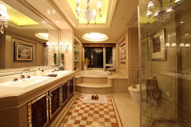 大户型欧式风格装修卫生间效果图