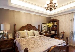 欧式风格别墅装修卧室布置图