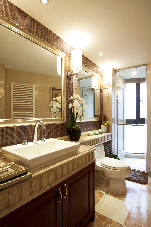 欧式风格别墅装修卫生间设计图