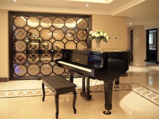 欧式别墅装修钢琴区