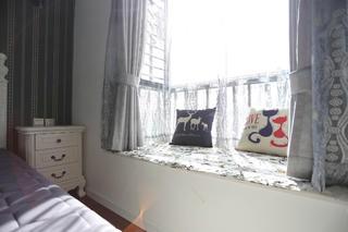 北欧混搭三居之家飘窗图片