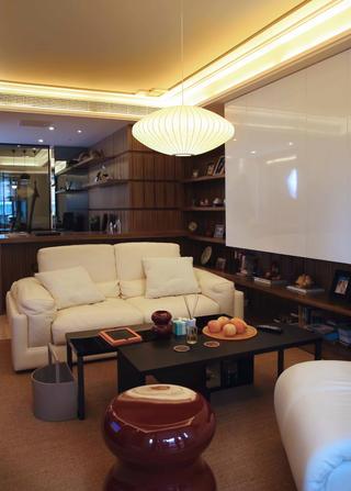 混搭风格二居室装修沙发图片