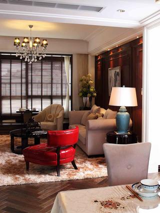 80平时尚奢华二居装修沙发图片