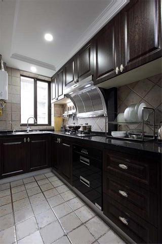 新古典二居之家厨房实景图