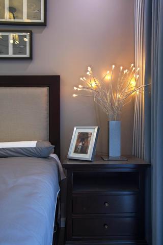 现代美式三居装修装饰灯图片