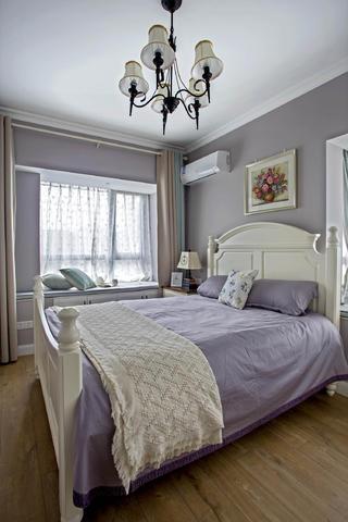 田园风格三居卧室布置图