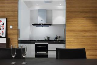 现代简约别墅厨房设计图