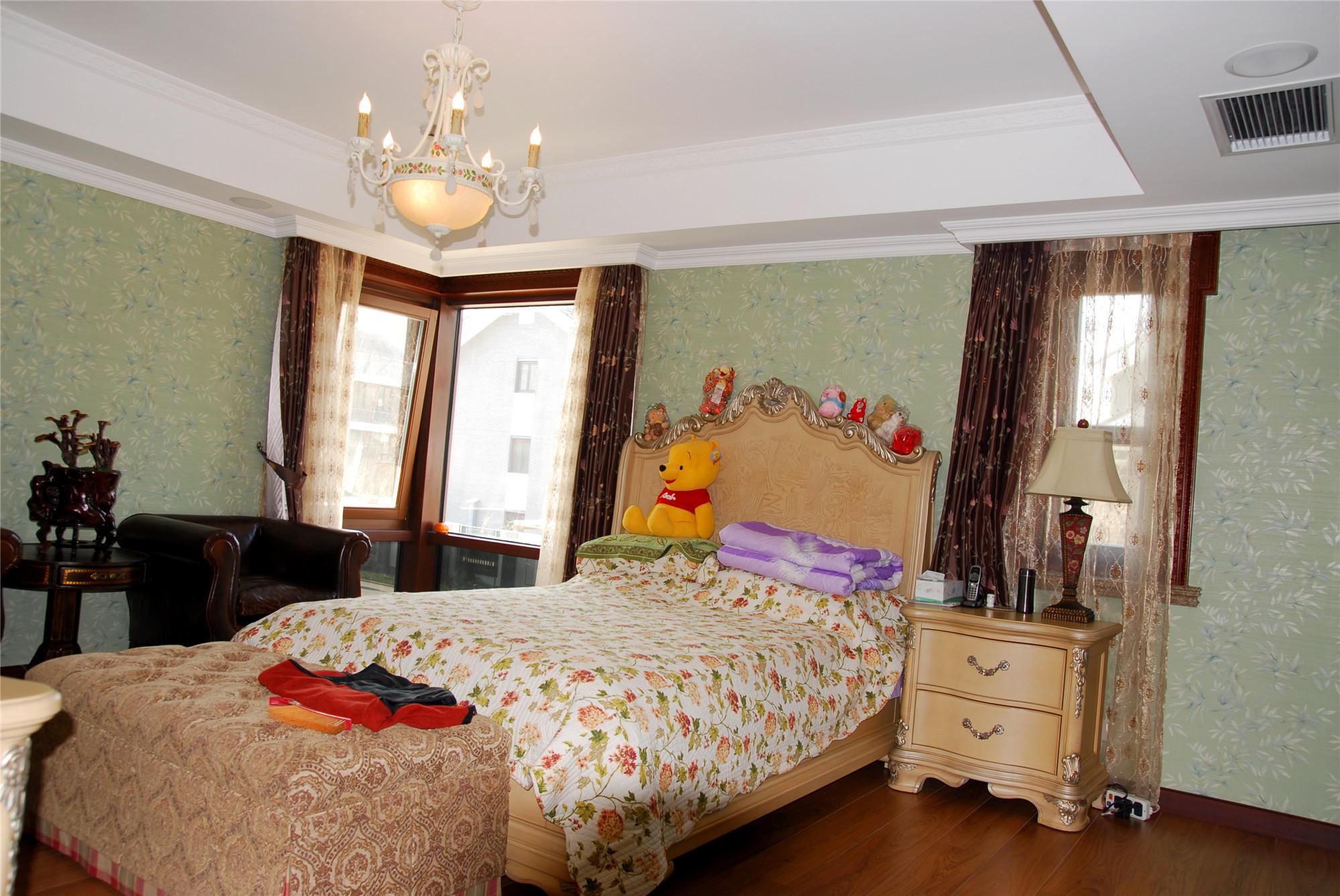 中欧式混搭别墅装修儿童房设计图