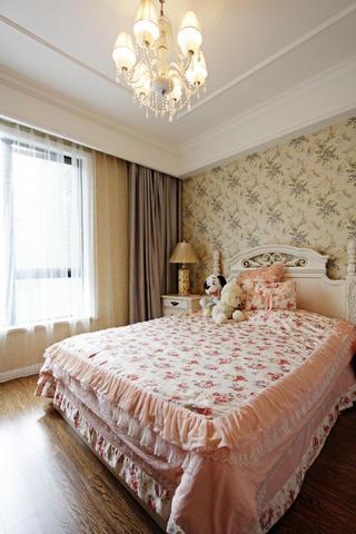 复式新古典装修卧室布置图