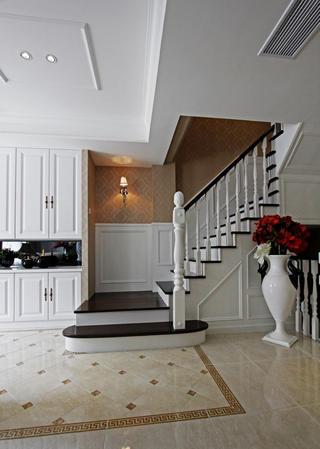 复式新古典装修楼梯图片