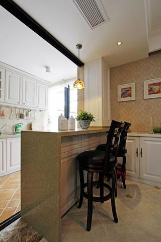 复式新古典装修厨房设计图