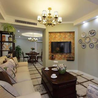 复式三居装修设计 休闲美式家