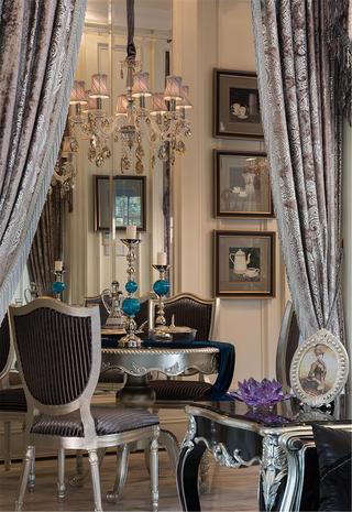 新古典风格别墅装修餐厅布置图