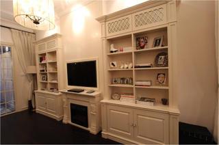 小户型现代风格装修电视背景墙设计