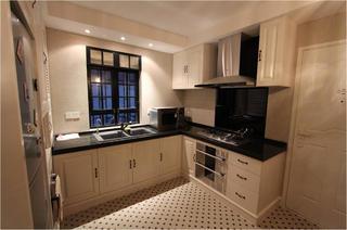 小户型现代风格装修厨房布局图