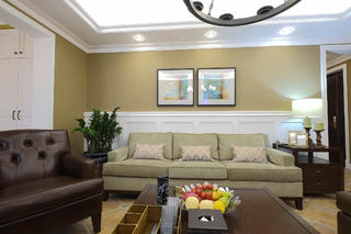 大户型美式装修沙发图片