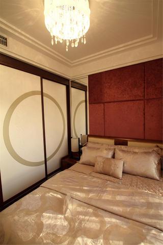 120平中式风格三居装修衣柜图片