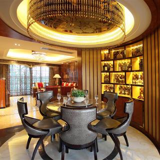 120平中式风格三居装修实景图