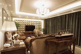 欧式风格别墅装修客厅设计图