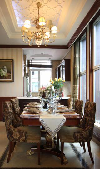 英式风格别墅装修餐厅设计