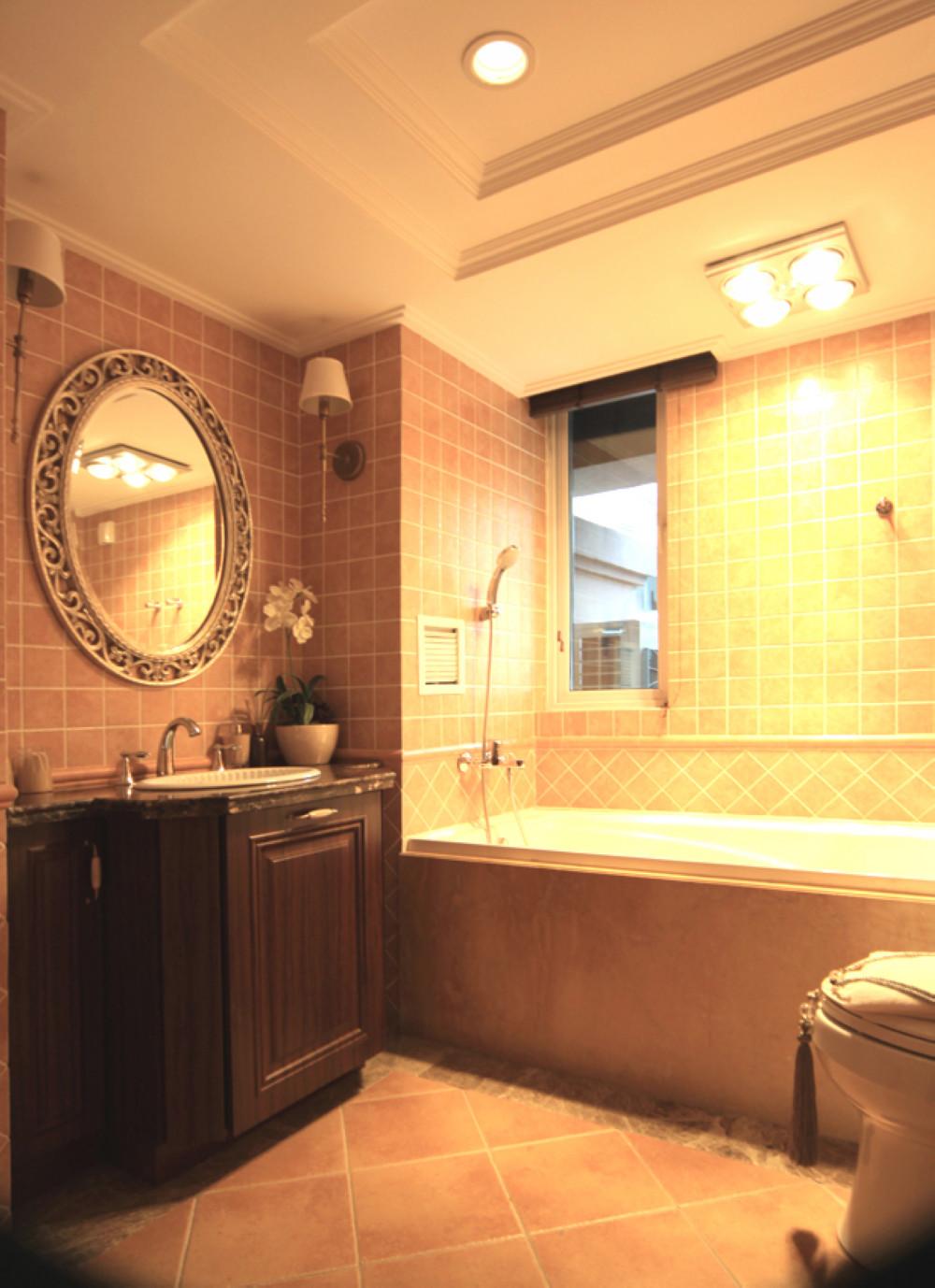 英式风格别墅装修卫生间设计