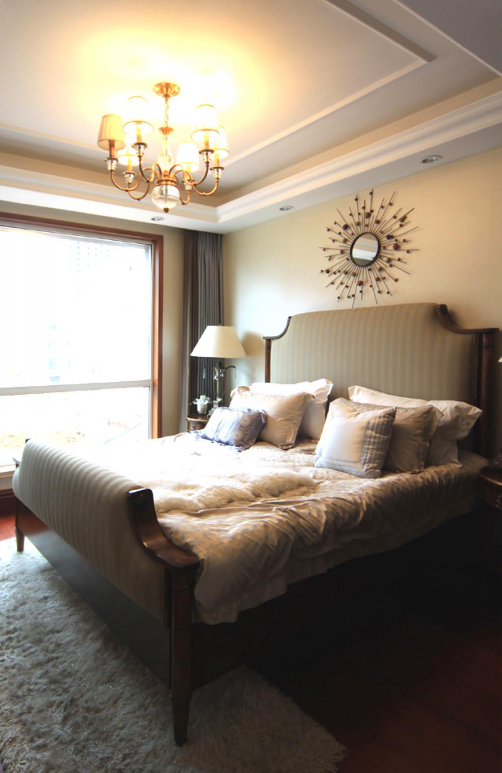 英式风格别墅装修卧室搭配图