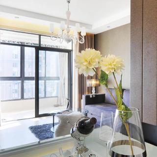 70平现代简约公寓装修设计图