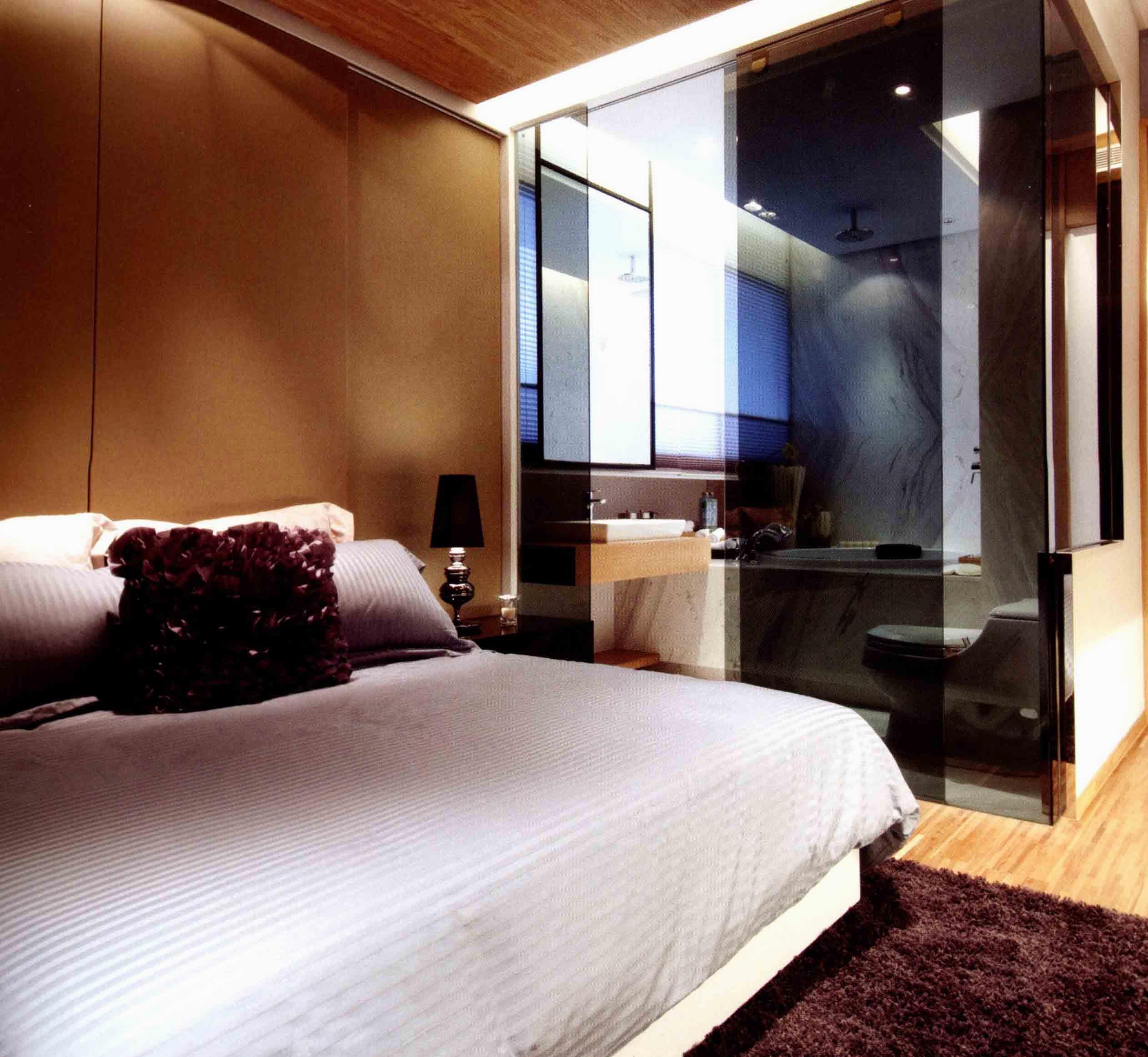 80平一居室卧室设计图