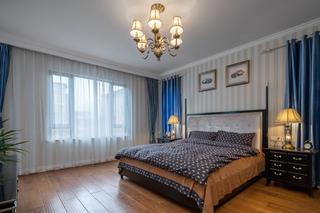新古典欧式别墅装修次卧搭配图