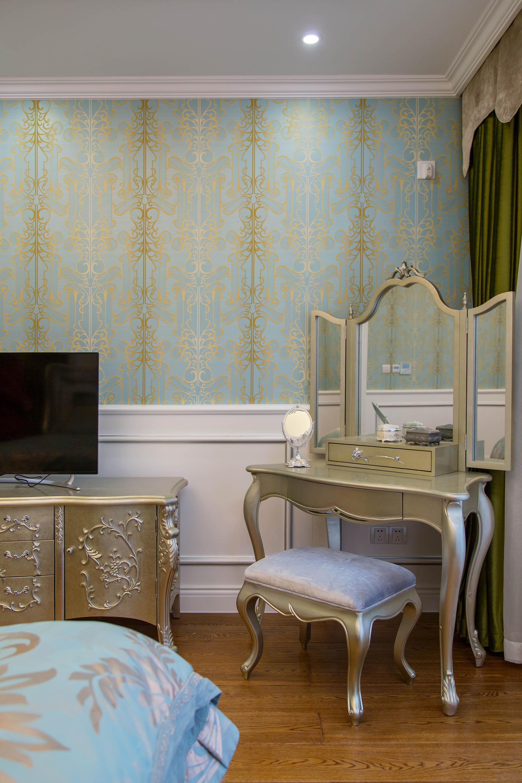 新古典欧式别墅装修梳妆台设计