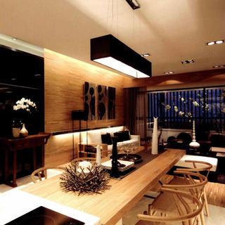80平一居室设计 东方极简美学