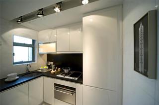 70平小户型装修厨房搭配图