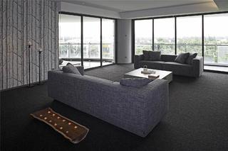 大户型现代简约家装修沙发图片