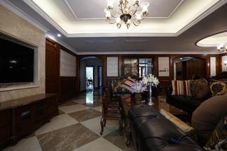 复式美式四房装修沙发图片