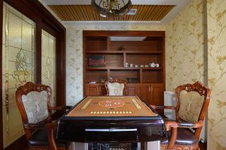 大户型典雅欧式风装修休闲室效果图