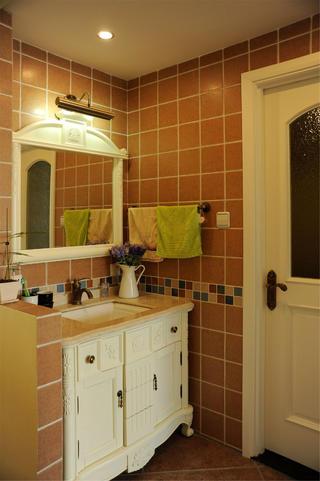 地中海风格两居洗手台图片