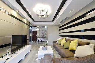 120平三居室装修吊顶设计
