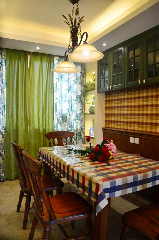135㎡美式风之家餐厅搭配图