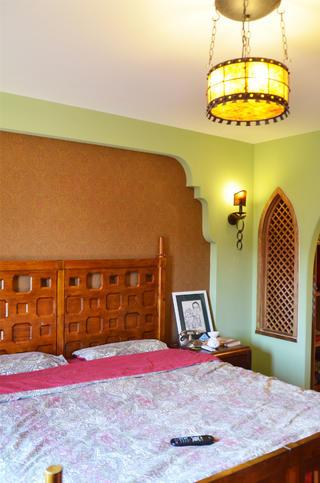 中式田园风格家卧室设计图