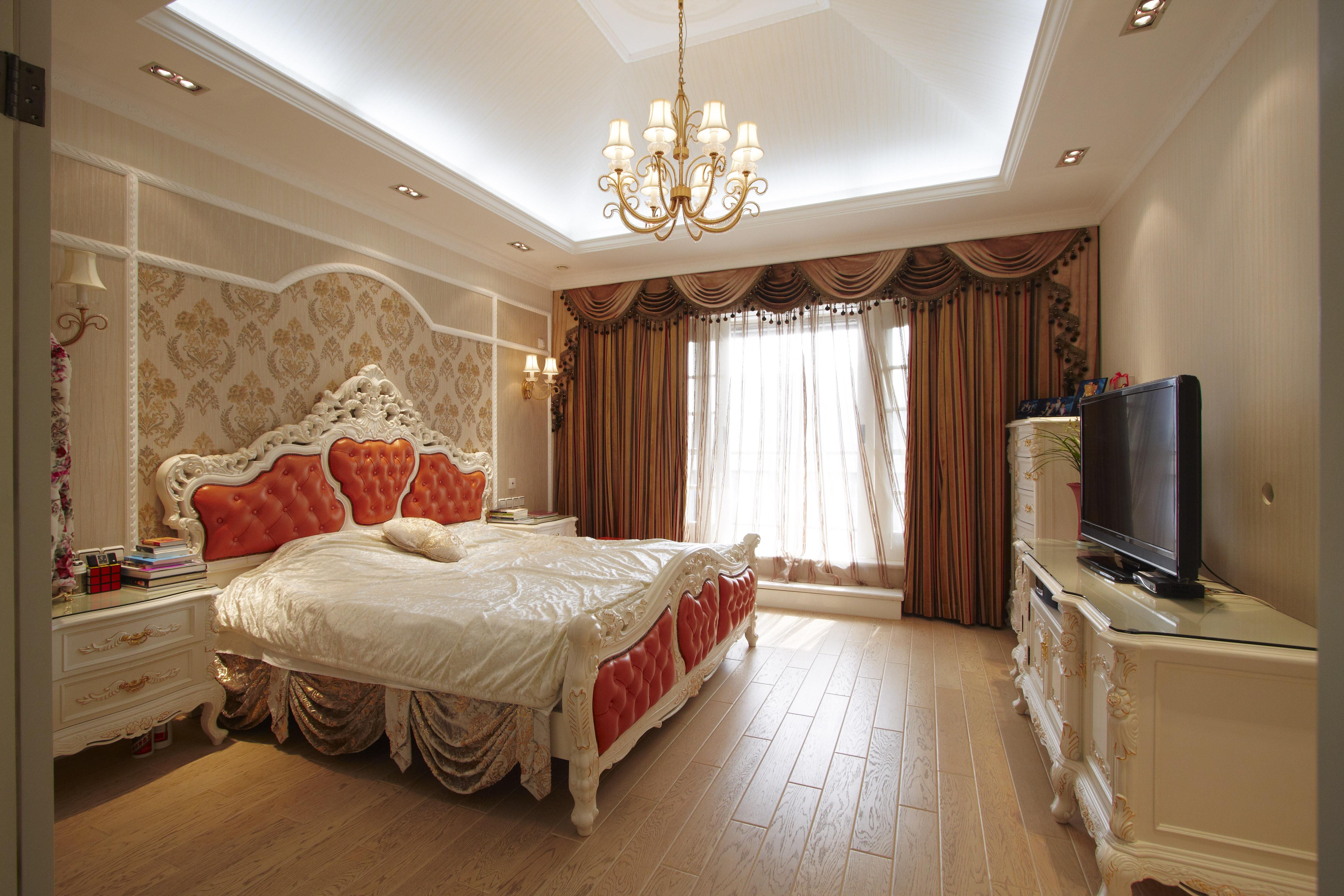 欧式风别墅装修卧室效果图