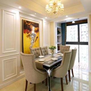 110平新古典三居装修设计图