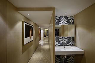 大户型现代简约家洗手台图片
