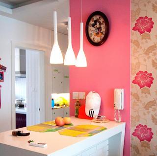 100平三居室装修 色彩情迷