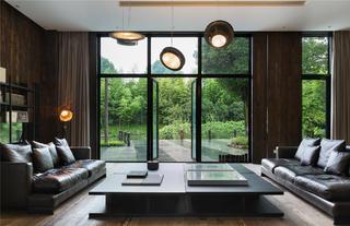 庭院别墅装修客厅设计图