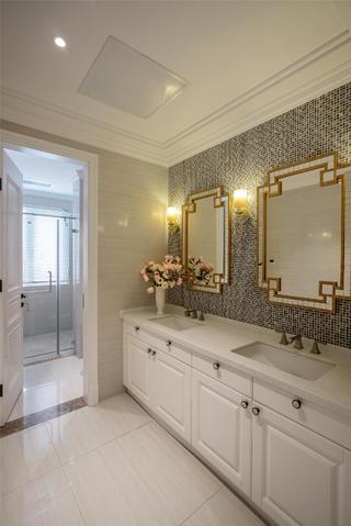 美式别墅装修卫生间布局图