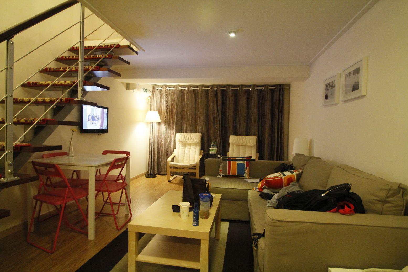 酒店式公寓装修沙发图片