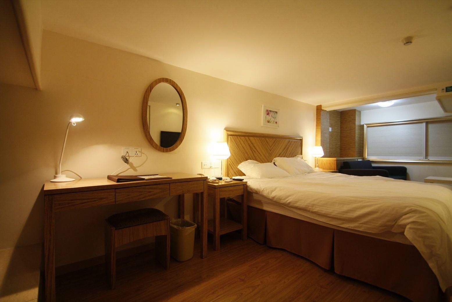 酒店式公寓装修卧室设计图