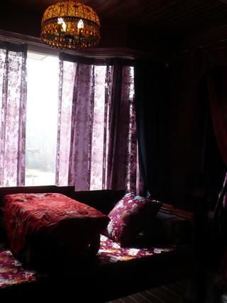 小户型田园风格装修飘窗设计