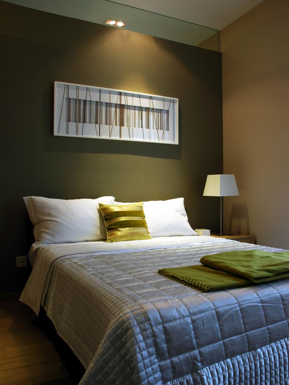 现代风格别墅设计卧室搭配图
