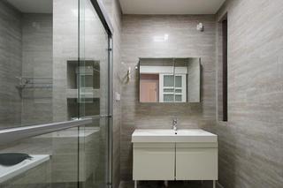 130平跃层装修卫生间设计图